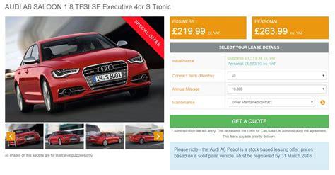 march  top  car lease deals
