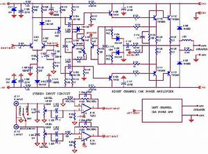 Rangkaian Amplifier Audio Mobil 500 Watt  U00bb Skemaku Com