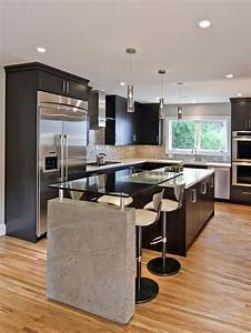 Sleek Contemporary Kitchen | Gardens, Countertops and ...