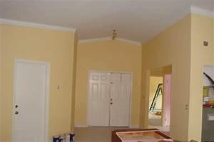 Dazzling Beige House Interior Painting Color Scheme