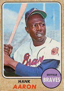 Another consideration is the purpose of the evaluation. 1968 Topps Hank Aaron #110 Baseball Card Value Price Guide ...