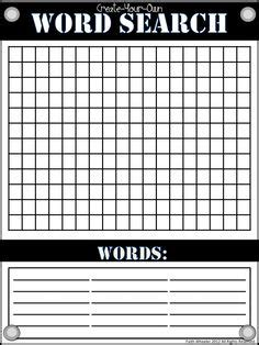 blank word search 6 best images of blank vocabulary word searches printable word search grid blank printable