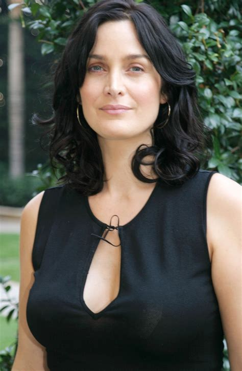 model carrie anne moss wallpapers