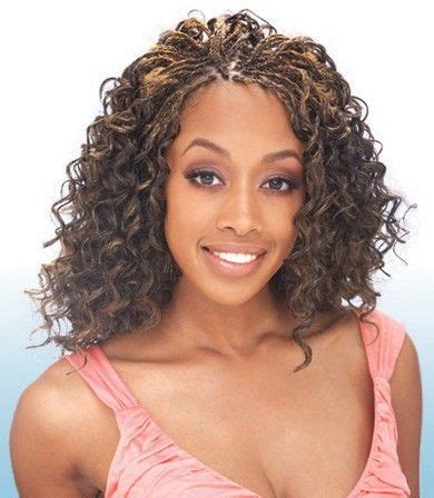 freetress crochet braids presto curl   braided