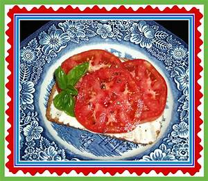 Garden Of Daisies: Farm Fresh Tomato Sandwich