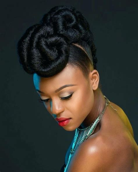 Updo Hairstyle For Black Hair by Updos For Black Hair Best Updo Hairstyles For Black