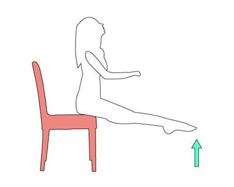 exercice chaise palp jour 6 5 exercices à faire avec une chaise les