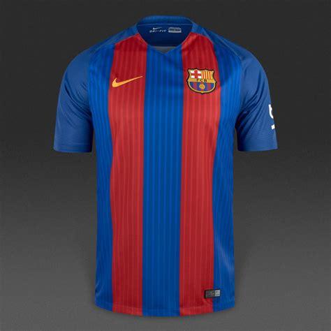 nike fc barcelona  ss home stadium jersey mens