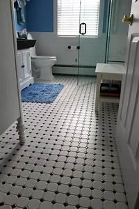 Vintage tile bathroom floor New Jersey Custom Tile