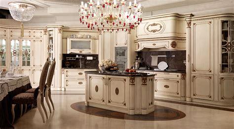 cuisine de luxe italienne cuisine italienne classique de luxe avec îlot central