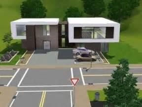 Sims 3 Modern House