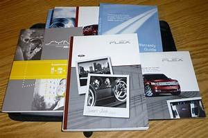 2009 Ford Flex Owners Manual Set 09 W  Case   Sync Guide