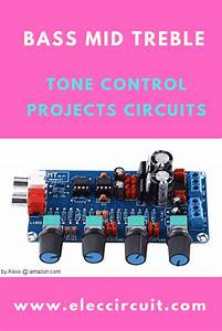 Classic Active Tone Control Circuit Using Ics