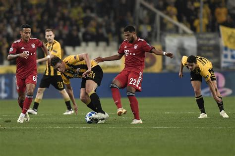 Aek Athens Vs Bayern Munich Match Goals