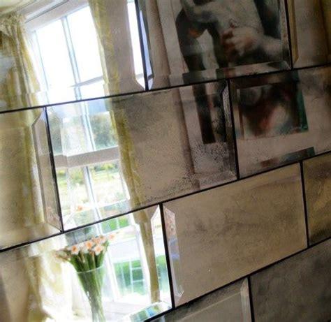 Mirrored Bathroom Wall Tiles by Metro Tiles Antiqued Mirror Bathrooms Mirror