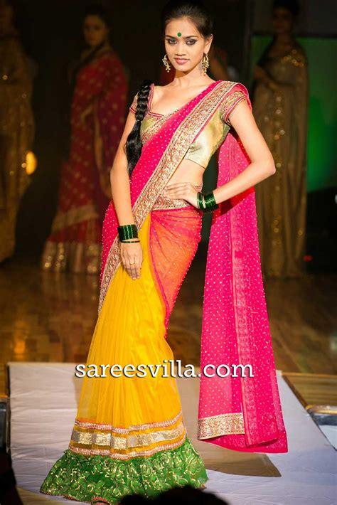 half sarees sarees villa