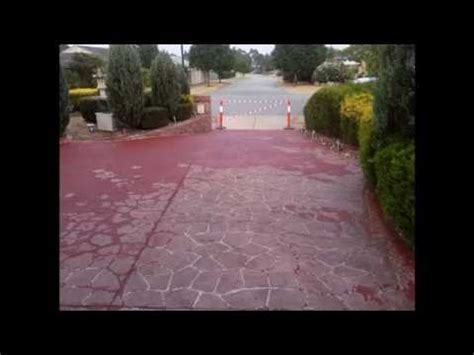 How To Paint A Concrete Driveway   DIY Advice   Doovi