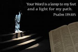 learning to see god in everything sonset reflections With lamp to my feet and a light to my path