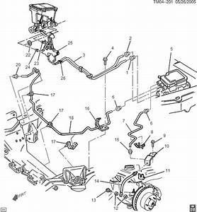 2003 Gmc Sierra Brake Line Diagram