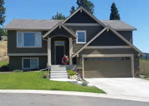 Images Split Level Exterior by Split Level House Craftsman Exterior Other By
