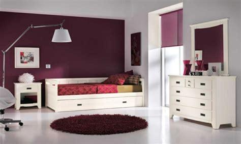 chambre mauve et blanc 60 exemples pour la chambre enfant bois moderne