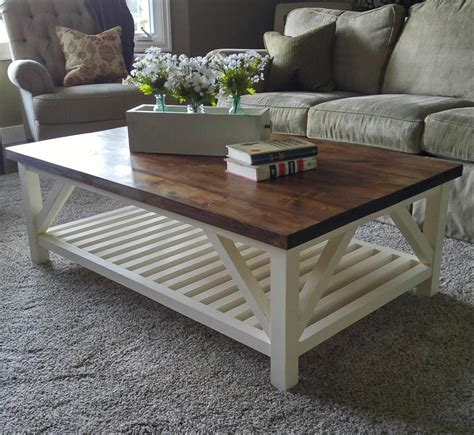 The grain pattern from the carefully selected wood along with the hours of crafting love make a table like this impossible to find. Modern Farmhouse Square Coffee Table - buildsomething.com