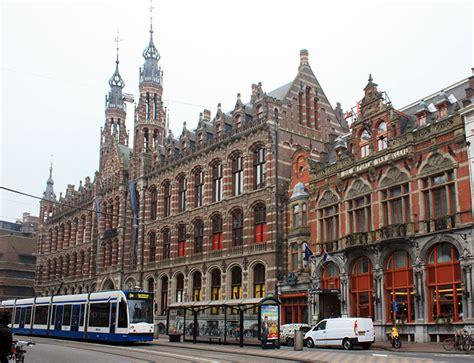 Almacenes Magna Plaza, junto a la plaza Dam, Amsterdam