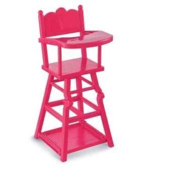 chaise haute corolle chaise haute cerise pour poupons corolle accessoire