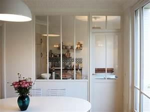 Verriere Pour Cuisine : am nager une cuisine une verri re pour s parer sans ~ Premium-room.com Idées de Décoration