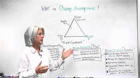 change management projectmanagercom