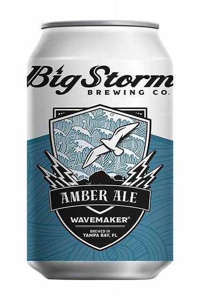 Wavemaker Storm Ale Amber Brewing Beer Brewery