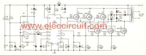 Power Inverter Circuit Using Irfp