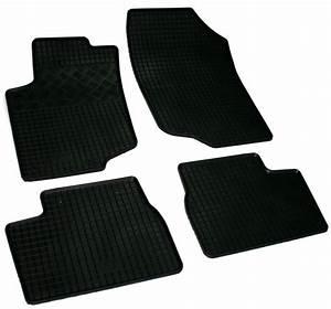 lot de 4 tapis de sol caoutchouc sur mesure peugeot 207 With tapis caoutchouc sur mesure