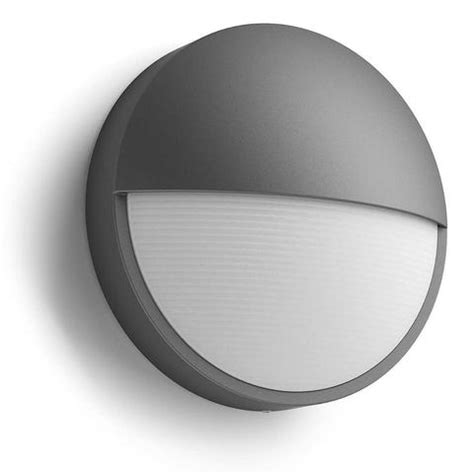 philips 16483 93 p0 bustan anthracite led outdoor l