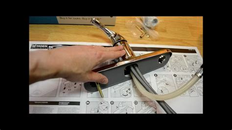 installing a kitchen faucet how to install a kitchen faucet removal replace