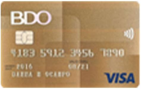 Maybe you would like to learn more about one of these? BDO Credit Cards - Best Promos & Deals 2019
