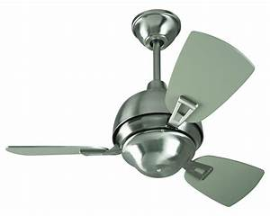 Craftmade Ceiling Fan With Blades Included Stainless Steel ...
