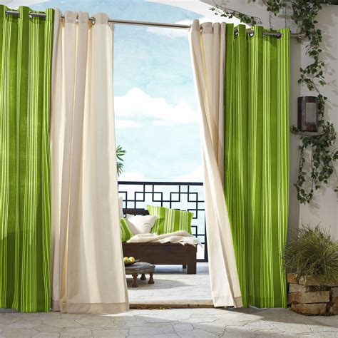Outdoor Curtains by Outdoor Gazebo Curtains 3 Outdoor Curtain Panels
