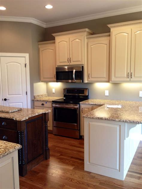 kitchen colors for white cabinets almond brittle porter paint color cabinets walnut 8221