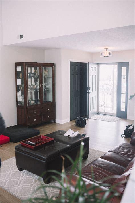 matt phillips brandons townhome living room makeover