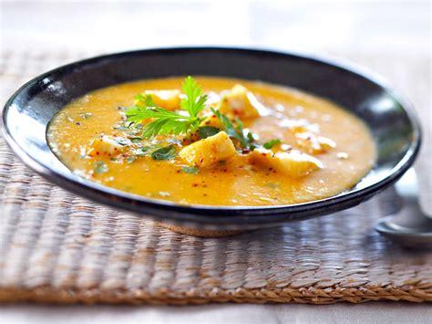 jeux de cuisine de poisson soupe de poisson créole facile recette sur cuisine actuelle