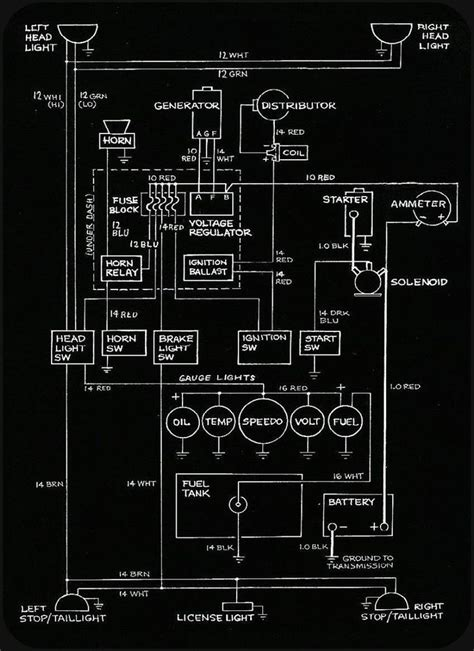 Wiring Diagram Farm Equipment Hot Rods Chevy