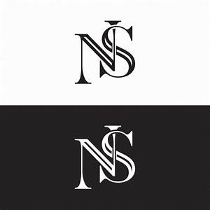 Ns Wedding Monogram