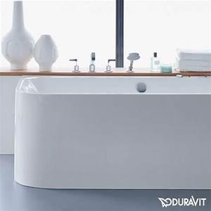 Duravit Happy D : duravit happy d 2 rechteck badewanne angeformte verkleidung ecke rechts badezimmer ~ Orissabook.com Haus und Dekorationen