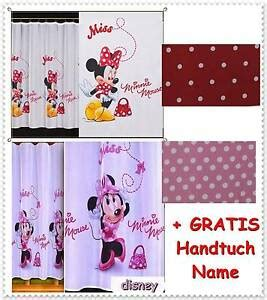 minnie mouse zimmer disney gardine kinderzimmer minnie maus mouse micky mickey ebay