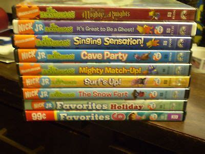 awesome 9 nick jr the backyardigans dvd lot mighty knights mars cave surf s up for