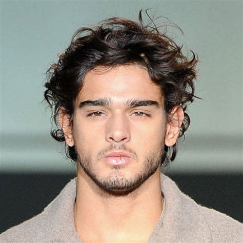 cool hairstyles  men  wavy hair