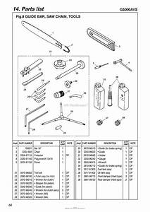 Red Max G5000avs-07  06 Parts Diagram For 010