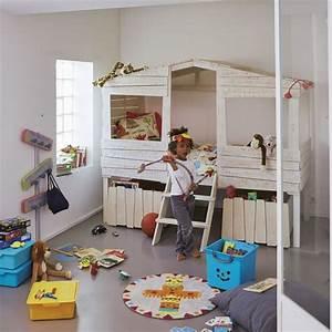 Chambre Enfant Original : d co chambre enfant originale c t maison ~ Teatrodelosmanantiales.com Idées de Décoration