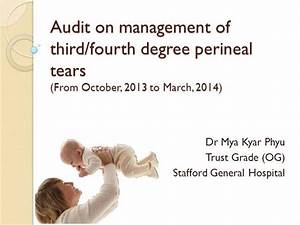 Audit On Management Of Third And Fourth Degree Perineal